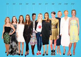 Hollywood Female Stars Arranged By Height Female Stars