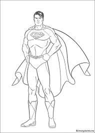 Superman Kleurplaat 506814 Kleurplaat