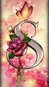 s s letter in love wallpapers posted by
