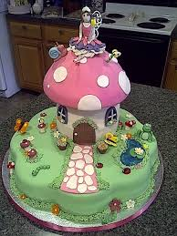 Small Picture 57 best Flower fairy cake images on Pinterest Fairy cakes