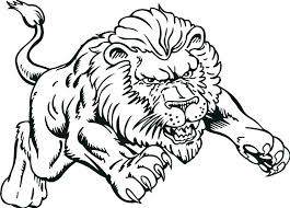 mountain lion coloring page baby pages children hyena co