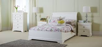 Solid Wood White Bedroom Furniture