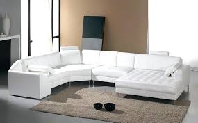 modern leather sectional sofas. White Leather Sectional Sofa Modern With Recliners Sofas