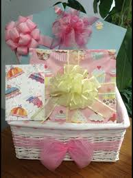 Gift Basket Wrapping Ideas Baby Shower Gift Basket Gift Wrapping Ideas For Baby Girl