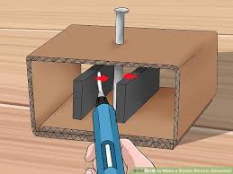 homemade electric generator. Image Titled Make A Simple Electric Generator Step 8 Homemade