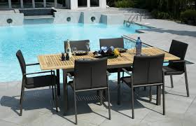 the san marino dining collection made of rustproof cast aluminum