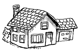 coloring pages house | Kids Activities