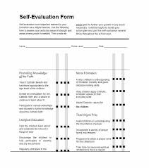 Examples Technical Skills Free Self Evaluation Examples Technical Skills Assessment