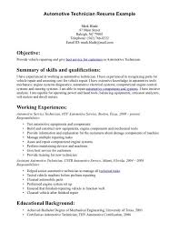 Make A Auto Body Repair Technician Resume Sample And Summary Of  Qualifications 6 Auto Body Technician ...