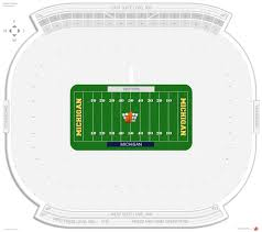Rutgers Stadium Seating Chart Michigan Stadium Michigan Seating Guide Rateyourseats Com