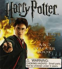 Harry Potter Wand And Sticker Book Miniature Editions
