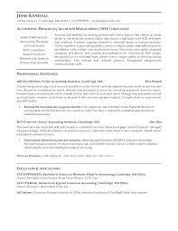 Tax Accountant Resume Accounting Job Resume Sample Accounting Resume