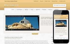 Free Church Website Templates Mesmerizing Holy Church A Religious Category Flat Bootstrap Responsive Web