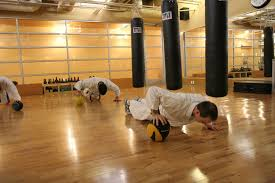 high intensity interval and martial arts