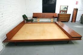 King Size Platform Bed Plans Build King Size Platform Bed Plans