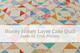 Honey Honey Layer Cake Quilt Â« Moda Bake Shop & Honey Honey Layer Cake Quilt Adamdwight.com
