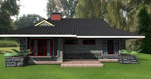 3bedroom bungalow plans by kenyan architect