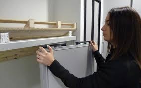 Exceptionnel Installer Portes Placard Coulissantes Meilleur Design Comment  Poser Une Porte De Placard Coulissante Centimetre Inspirations