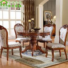 get ations european solid wood dining table large round table dinette combination of oak dinette table round dining