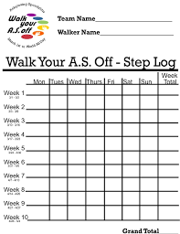 Printable Walking Charts 11 Best Photos Of Free Templates Blank Printable Dog Walking