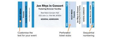 ticket templates templates for raffle tickets and event tickets customisable ticket templates