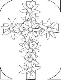 Small Picture Cross flowers coloring pages ColoringStar