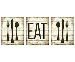 fork knife spoon wall art fork and spoon wall art awesome eat art print rustic faux fork knife spoon wall art