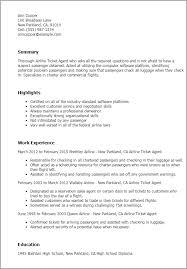 Ticket Sales Resume Best Resume Gallery