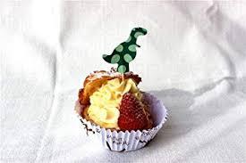 Cupcake Topper Birthday Cake Topper Dinosaur Boy Kids Sticks Kit