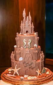 Wedding Cake Wednesday Sand Castle Delight Disney Weddings