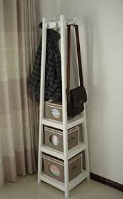 Coat Rack With Storage Shelves Coat Racks awesome wood coat rack stand Wooden Coat Rack With Shelf 2