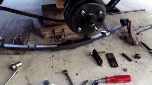 Light Duty Leaf Springs How To Replace And Upgrade Rear Heavy Duty Leaf Springs On Ez Go Txt Golf Cart