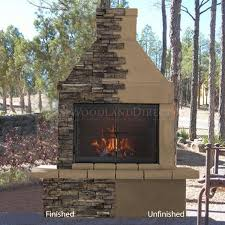 mirage stone outdoor wood burning fireplace w bbq woodlanddirect com outdoor fireplaces fireplace units wood