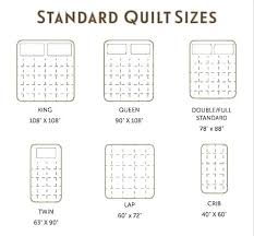 Bedspread Sizes Chart King Bed Quilt Size Jpaserviciosturismo Com Co