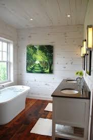 white wash walls knotty pine walls