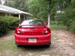 2002 Dodge Neon Back Bumper Is A Different Shade Of Red Than The ...