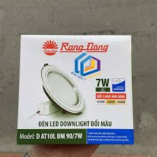 ĐÈN LED ÂM TRẦN DOWNLIGHT ĐỔI 3 MÀU 7W RẠNG ĐÔNG CAO CẤP - Đèn trần Nhãn  hàng Rạng Đông