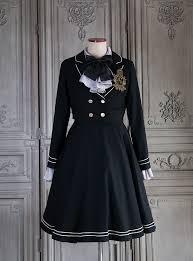 My School Memories Vintage Lolita Short Jacket, Blouse and Jumper Dress