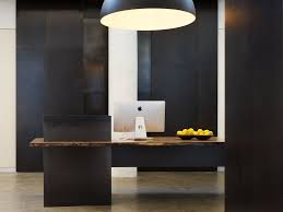 contemporary wood office furniture. Hunky Room With Contemporary Wooden Desk Also Large Chandelier Shade Wood Office Furniture