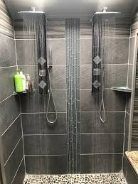 Two Headed Shower Designs Steam Shower Remodel Spear Building Group