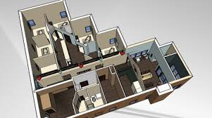 Virtual office design Hot Desking Overhead Of 3dimensional 3d Model Of Finished Design That Can Be walked Through In Virtual Reality State Design Concepts Can Be Tested Here And Office Snapshots Design Build Or Makeover Your Office In Three Simple Steps
