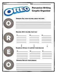 best examples of persuasive writing ideas persuasive writing oreo method upper elementary