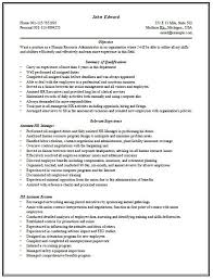 sample recruitment director resume sample hr executive resume