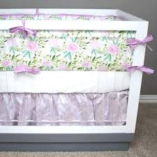 lilac crib bedding watercolor fl modified tot erfly and green baby pink purple