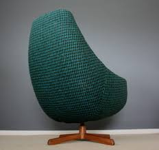 Space Age Furniture Mid Century Swedish Space Age Egg Chair Retro Dogtooth Vintage 50s