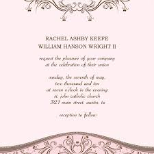 Invitations In Word Template Wedding Invitations Template Word Oddesse Info