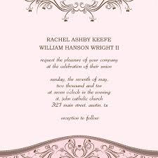 Wedding Invitations Template Word Oddesse Info