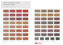 Lafarge Mortar Color Chart 20 Systematic Solomon Color Chart
