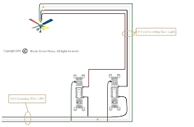 wiring a ceiling fan with 2 switches wiring a ceiling fan with light with two switches wiring a ceiling fan