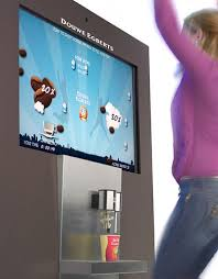 Interactive Vending Machines Simple Douwe Egberts' BeMoved Vending Machine Will Make You Jump For Joy Fo